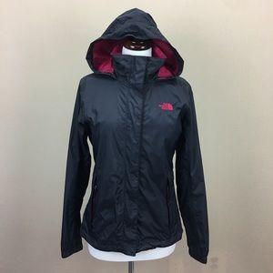 The North Face Black HyVent Rain Jacket